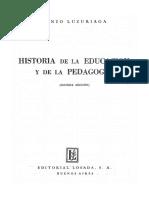 Luzuriaga Lorenzo - Historia De La Educacion Y La Pedagogia.pdf