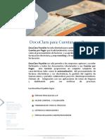 Brochure DocuClass Cuentas por Pagar
