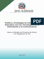 Politicas y Estrategias Tic Julio 2013 2