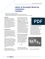 Characterization of Eucalypt Wood by Mercury Porosimetry - DataInterpretation