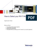 How to Select Your Wi-Fi Module