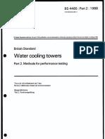 Cooling Towers Performance Test - British Standard.pdf