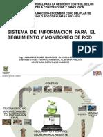 Sistema de Información Seguimiento Rcd