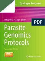 (Methods in Molecular Biology 1201) Christopher Peacock (Eds.)-Parasite Genomics Protocols-Humana Press (2015)