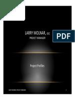 Larry Molnar Project Portfolio - LinkedIn