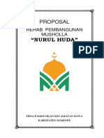 Proposal Rehab Musholla