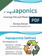 Tawnya Aquaponics Intro