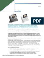 Cisco IP Phone 8865 Data Sheet