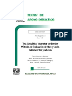 Test Gest+íltico Visomotor Bender M+®todos Evaluaci+¦n Hutt Lacks A y A - Heredia y Ancona - Santaella Hidalgo - Somarriba Rocha - TAD - 6-¦ sem.pdf