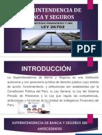 Diapositivass Superintendencia de Banca y Seguros