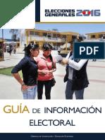 Guia Información Electoral EG 2016 Arrhh