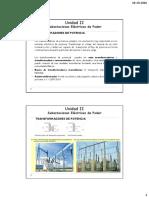 Unidad II 3 Subestaciones Eléctricas de Podertrafo Poder