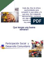 Partic y Desarrollo Comunitario 2010