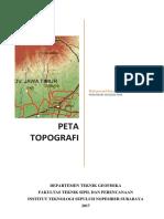 Modul Peta Topografi