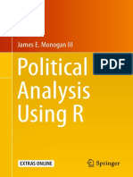 James E. Monogan III Auth. Political Analysis Using R