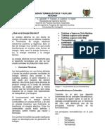Resumen Energía Termoelectrica y Nuclear