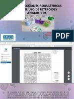 Complicaciones psiquiátricas por el uso de esteroides anabólicos.pptx