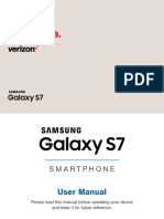 Final User Guide Samsung Galaxy s7