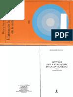 149890066 Historia de La Educacion en La Antiguedad Marrou