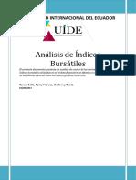 Proyecto Índices Bursátiles (Finanzas Internacionales)
