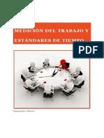 Medición Del Trabajo y Estándares de Tiempo Modificado