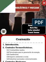 Energía Termoeléctrica y Nuclear