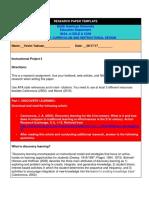 educ 5312-research paper vesim yakisan