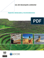 Desempeño Ambiental. Perú 2016 OCDE