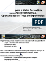 Brasil Nos Trilhos 2012
