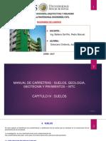 Capitulo IV y v - Manual de Suelos, Geologia, Geotecnia y Pavimentos