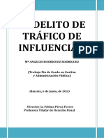 TFG TRAFICO INFLUENCIAS