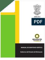 introduccion Manual de Identidad Estado de Michoacan