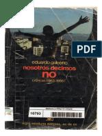 Eduardo Galeano Facismos en America Latina
