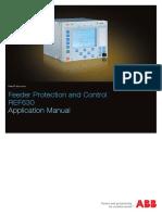 Manual de Aplicacion REF630