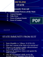 State Immunity - power point presentation