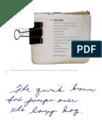 HandwritingRepair Crop