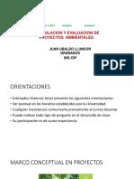 Formulación y Evaluación Proyectos Ambientales