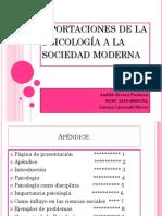Aportaciones de La PsicologíA a ..
