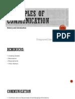 Communications Basics