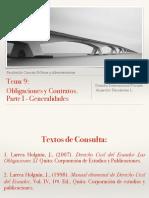 Clase 9 y 10 Derecho Internacional Privado_Obligaciones y Contratos