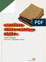 John Fiske - İletişim Çalışmalarına Giriş
