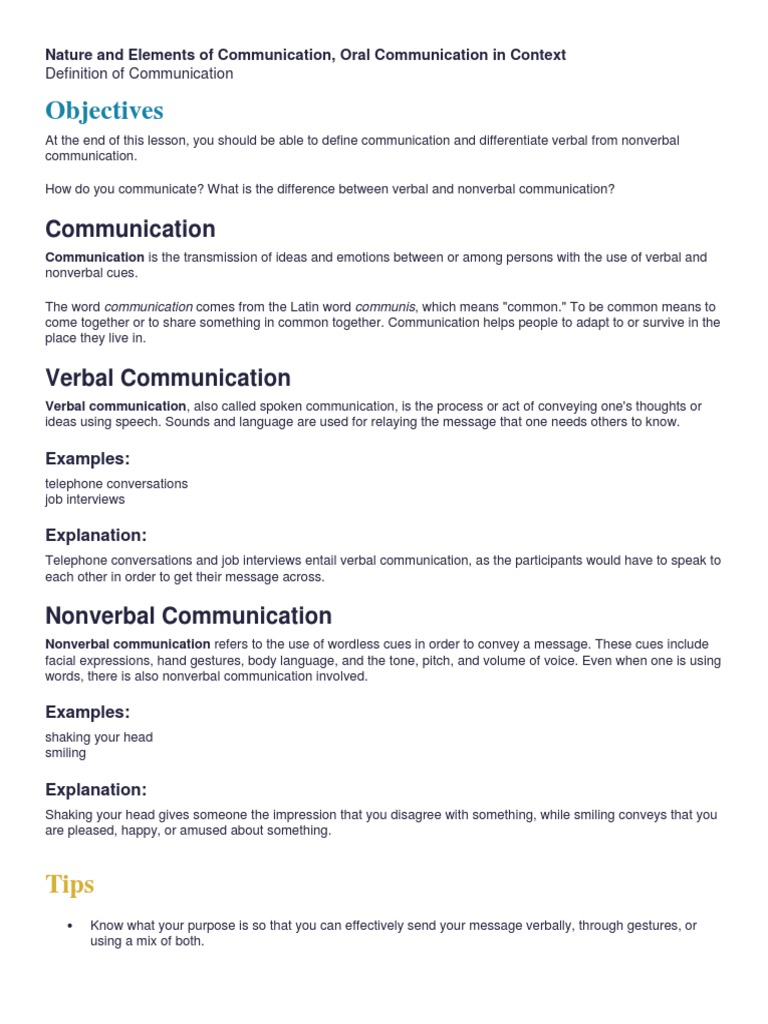 reflective essay on nonverbal communication