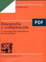 Etnografia y Comparacion-