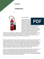 gabinetes contra incendios