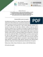 Modelo de Resumen Corto CorrDB