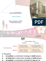 12. Game Theory and Oligopoly quiz.pptx