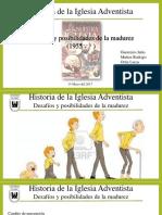 Historia de La Iglesia Adventista. (1)
