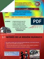INTERESES DE LA REGIÓN HUÁNUCO  Y OBJETIVOS A LARGO PLAZO