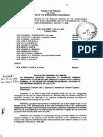 Iloilo City Regulation Ordinance 2006-009