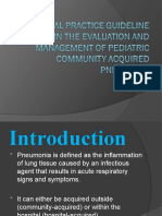 CPG Pneumonia